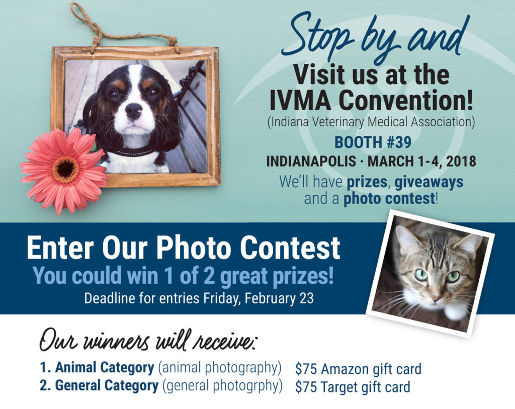 Indianapolis Photo Contest by Animal Eye Clinic - Deadline February 23, 2018